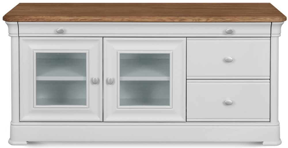 Clemence Richard Tuscany Painted Oak TV Stand