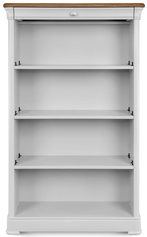 Clemence Richard Tuscany Painted Oak Tall Bookcase