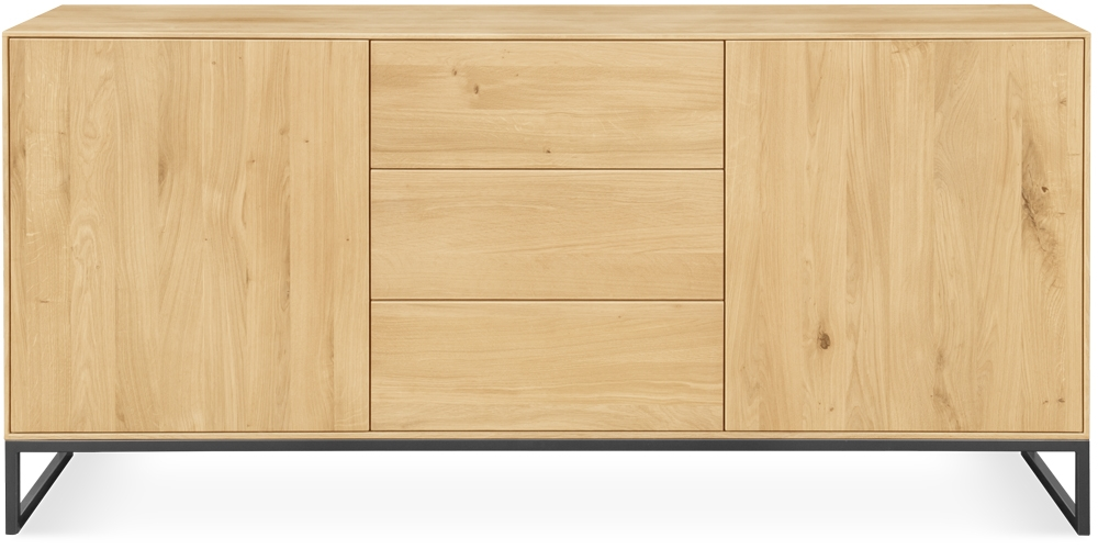 Clemence Richard Verona Oak Sideboard - Wide