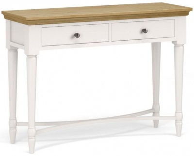 Corndell Annecy Oak Top Console Table