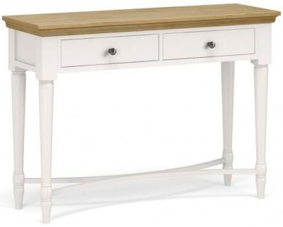 Corndell Annecy Oak Top Console Table