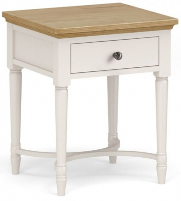 Corndell Annecy Smoke Grey Painted Lamp Table
