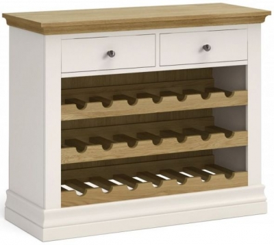 Corndell Annecy Oak Top Wine Unit