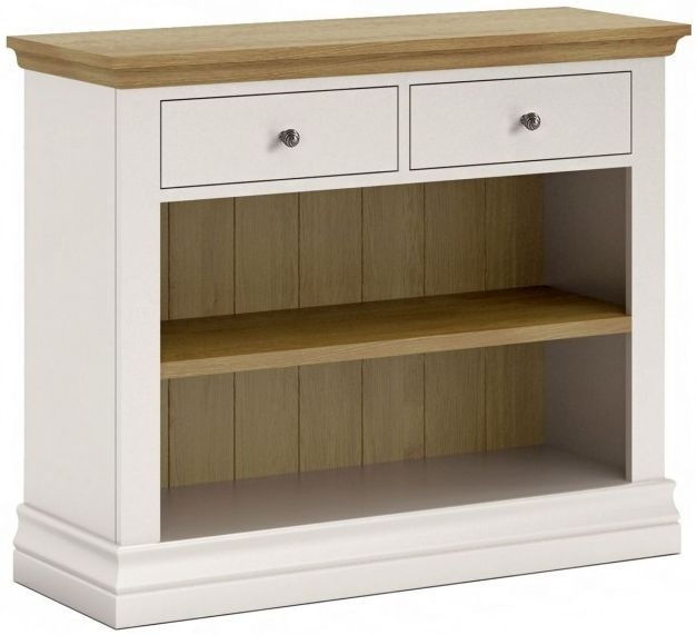 Corndell Annecy Smoke Grey Painted Bookcase