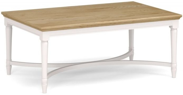 Corndell Annecy Oak Top Large Coffee Table