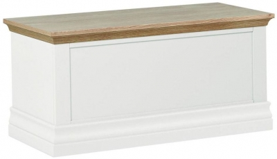 Corndell Annecy Oak Top Blanket Box