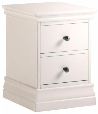 Corndell Annecy Buttermilk Narrow Bedside Cabinet