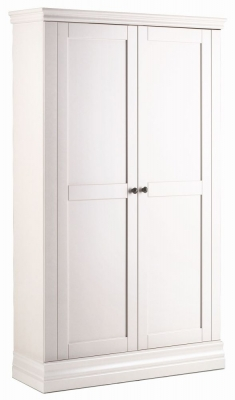 Corndell Annecy Cotton Painted 2 Door Double Wardrobe