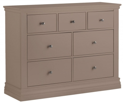 Corndell Annecy Fawn 3 + 4 Chest of Drawer