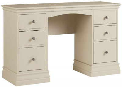 Corndell Annecy Ledum Double Pedestal Dressing Table