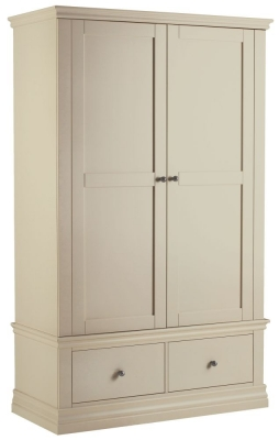 Corndell Annecy Ledum Double Wardrobe with 2 Drawers