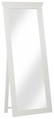 Corndell Annecy White Painted Cheval Mirror