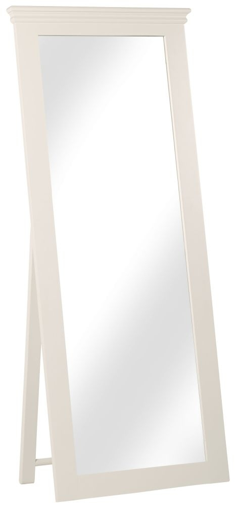Corndell Annecy Buttermilk Cheval Mirror