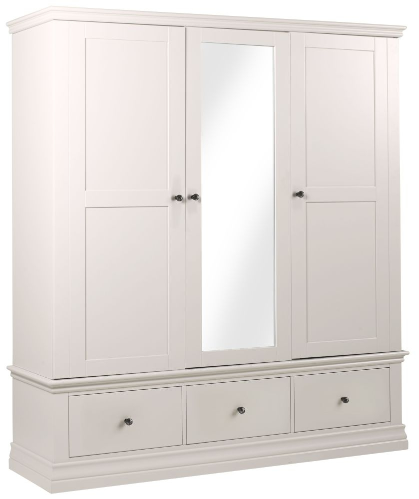 Corndell Annecy Buttermilk Triple Wardrobe