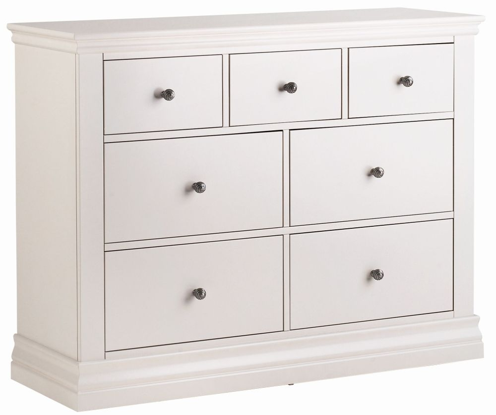 Corndell Annecy Cotton 3 + 4 Chest of Drawer