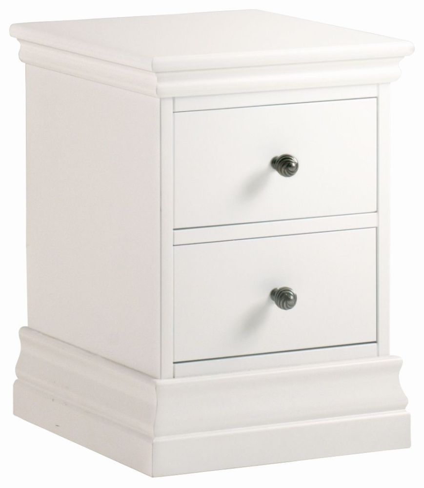 Corndell Annecy Cotton Narrow Bedside Cabinet