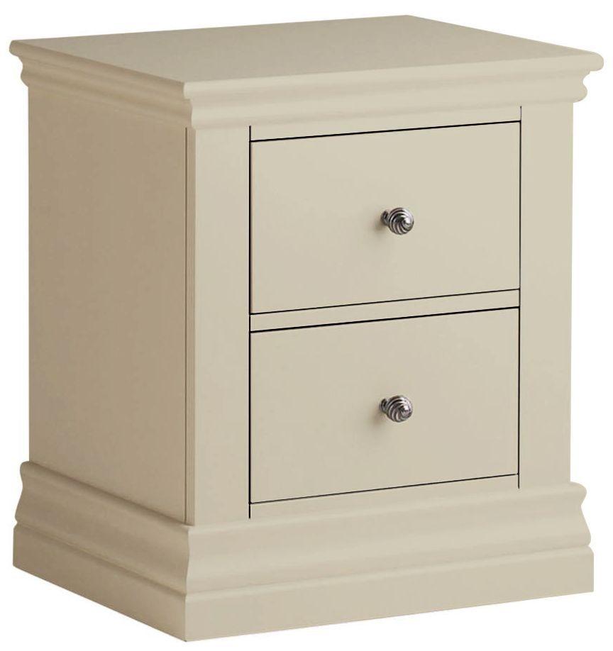 Corndell Annecy Ledum 2 Drawer Bedside Cabinet