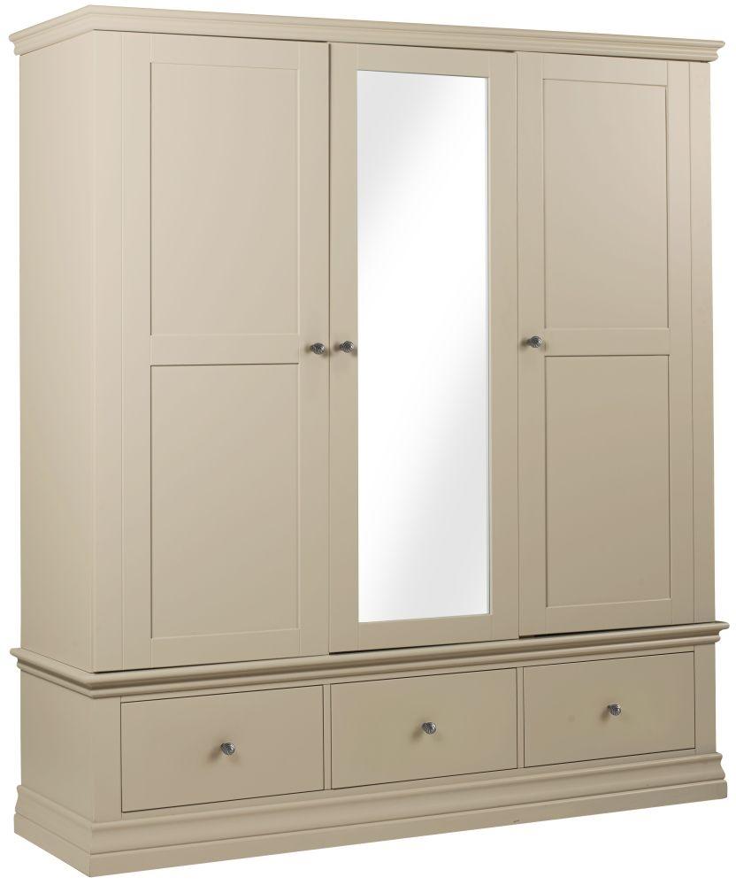 Corndell Annecy Ledum 3 Door 3 Drawer Triple Wardrobe