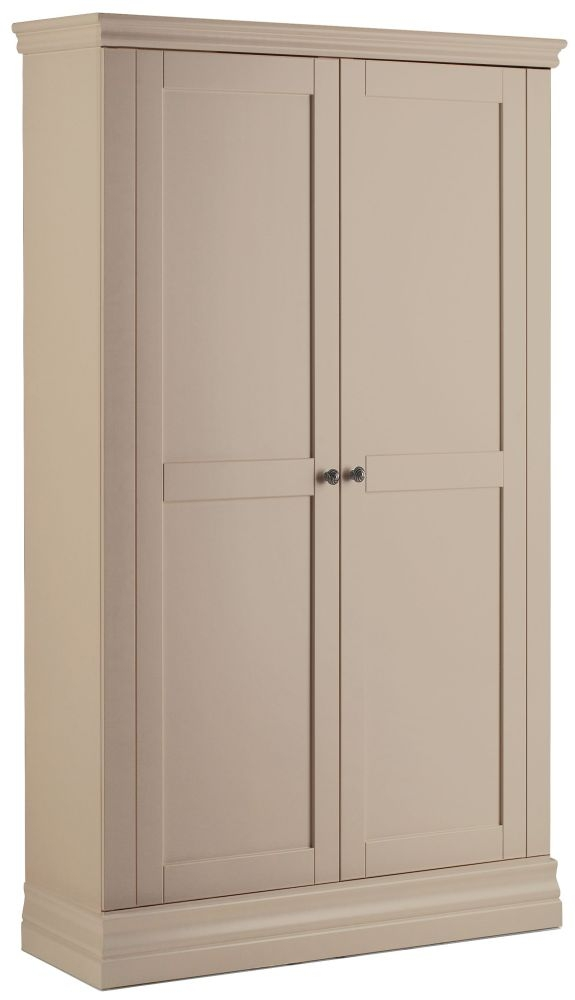 Corndell Annecy Taupe Narrow Wardrobe