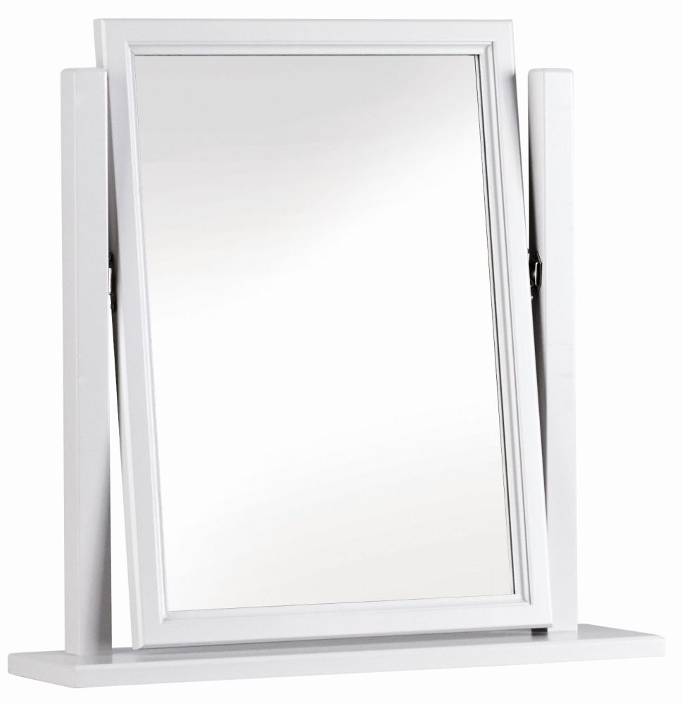 Corndell Annecy White Painted Vanity Mirror