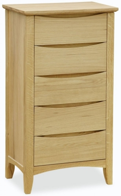 Corndell Arlingham Oak Lingerie Chest of Drawer