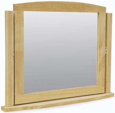 Corndell Arlingham Oak Mirror