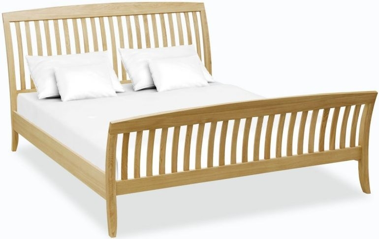 Corndell Arlingham Oak Slatted Bed
