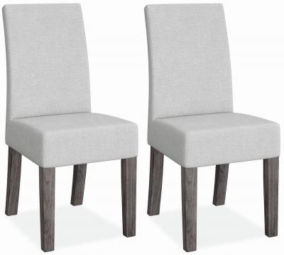 Corndell Austin White Dining Chair (Pair)