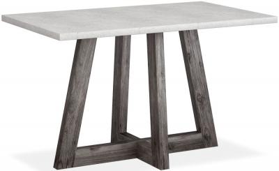 Corndell Austin White Concrete Bar Table