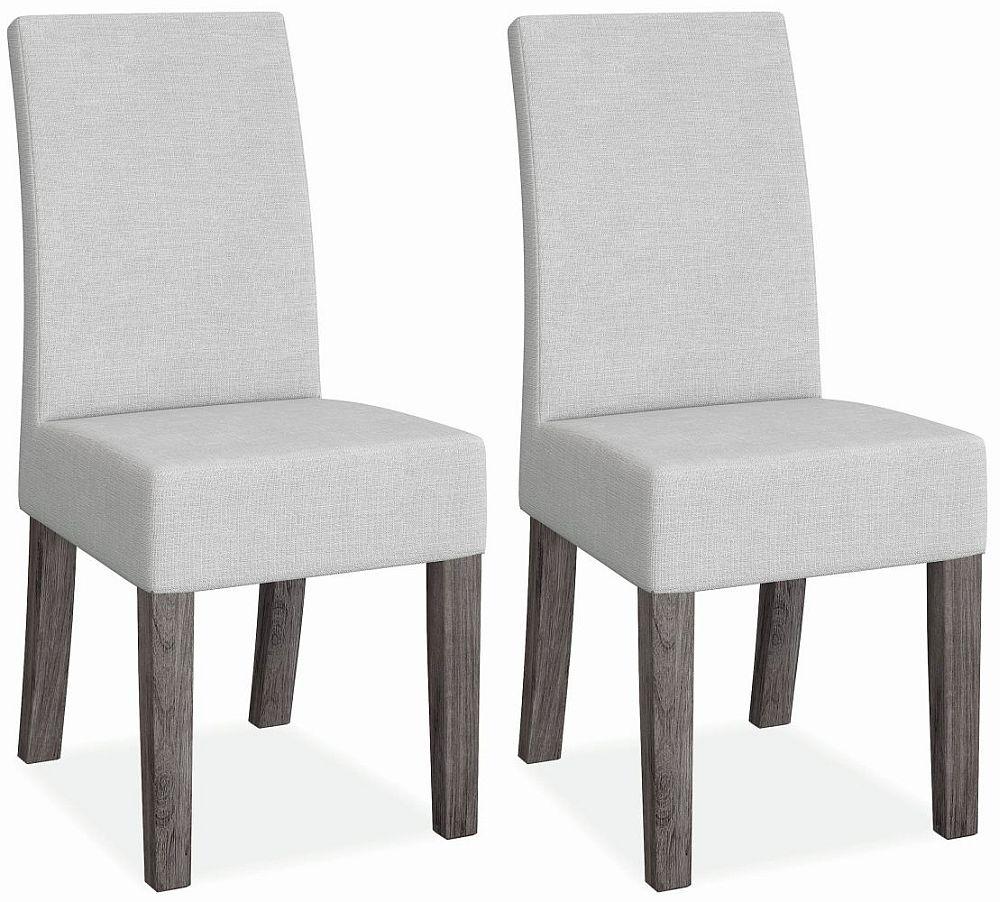 Corndell Austin Dining Chair (Pair) - White and Acacia