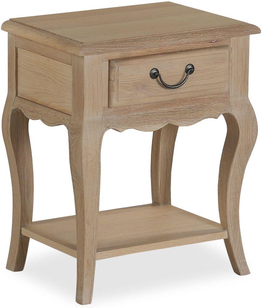 Corndell Cheltenham Oak 1 Drawer Nightstand