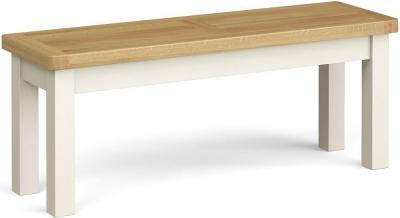 Corndell Daylesford Large Bench - Oak and Ivory