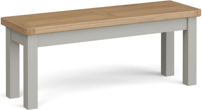 Corndell Daylesford Large Bench - Oak and Pebble Grey