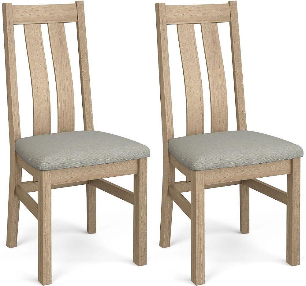 Corndell Daylesford 2 Slat Dining Chair - Oak (Pair)