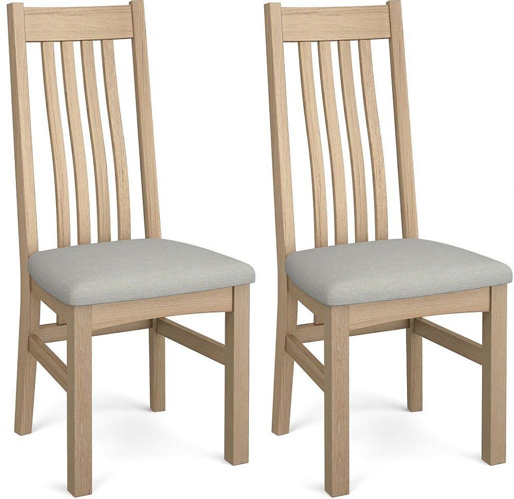 Corndell Daylesford 4 Slat Dining Chair - Oak (Pair)