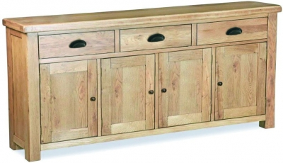 Corndell Fairford Oak Extra Large Sideboard