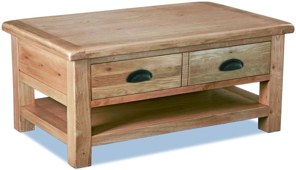 Corndell Fairford Oak Large Coffee Table