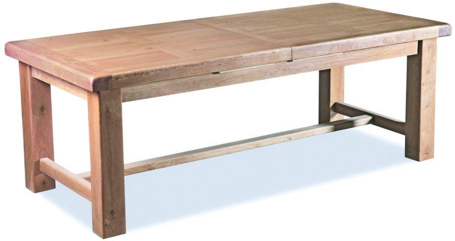 Corndell Fairford Oak Large Extending Dining Table