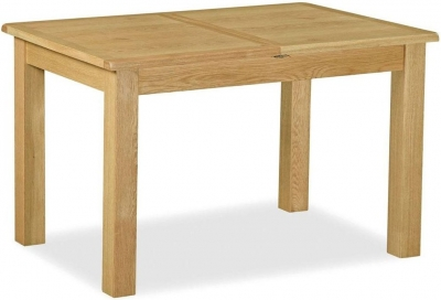 Corndell Lovell Lite Oak Compact Extending Dining Table