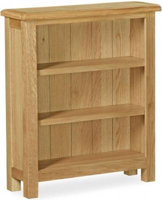 Corndell Lovell Lite Oak Low Bookcase