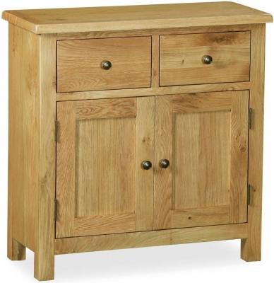 Corndell Lovell Lite Oak Mini Sideboard