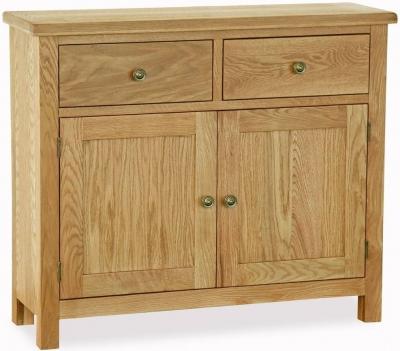 Corndell Lovell Lite Oak Small Sideboard