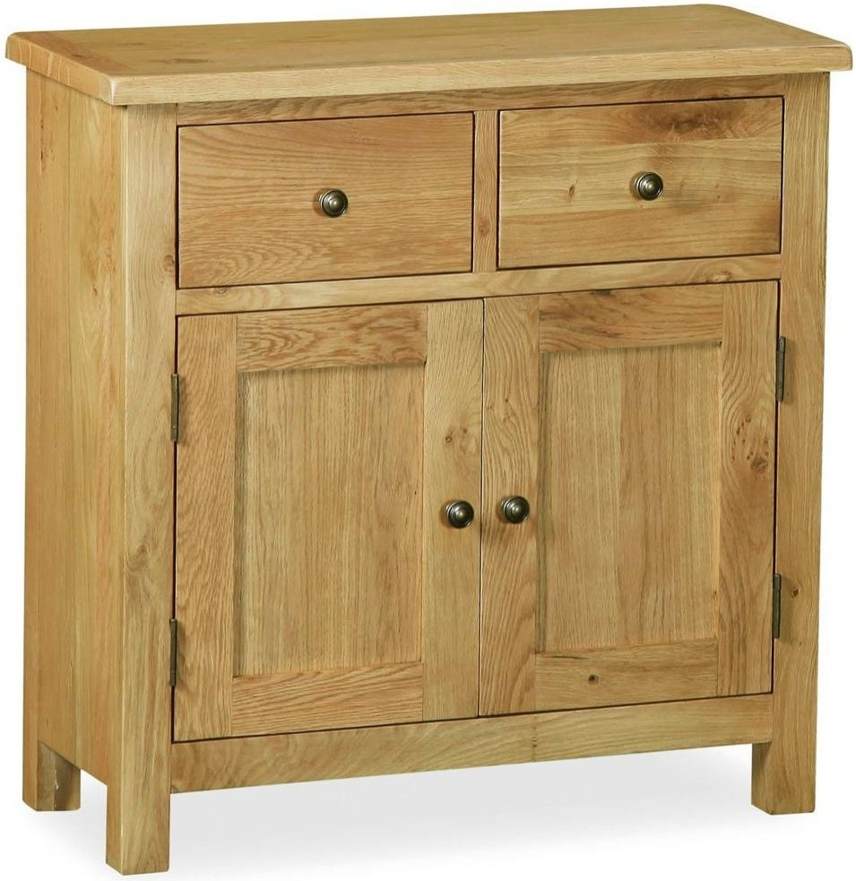 Corndell Lovell Lite Oak Mini Sideboard
