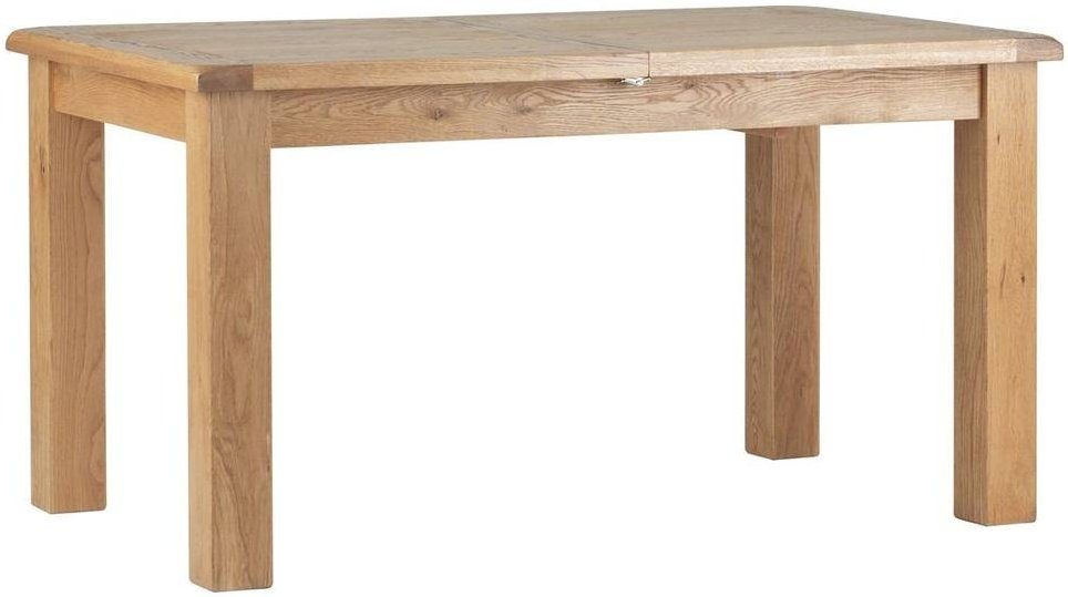 Corndell Lovell Oak Extending Dining Table
