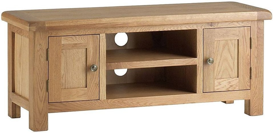 Corndell Lovell Oak Plasma TV Unit