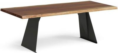 Corndell Milan 210cm Live Edge Dining Table