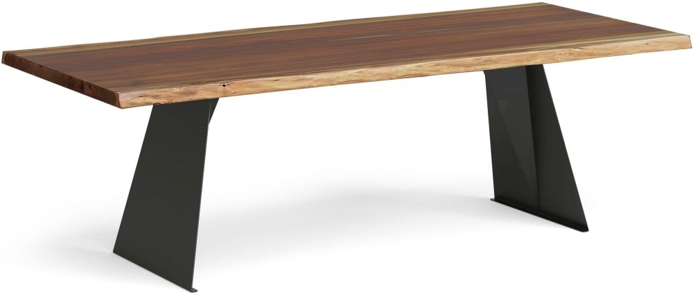 Corndell Milan Large Dining Table - Wood and Metal