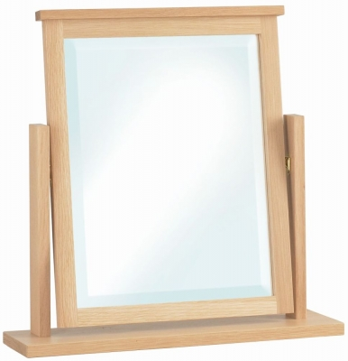 Corndell Nimbus Satin Oak Dressing Mirror