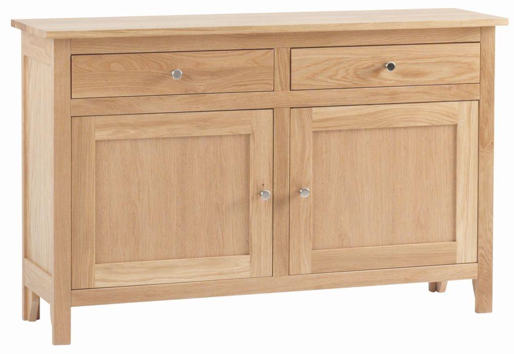 Corndell Nimbus Satin Oak Medium Sideboard