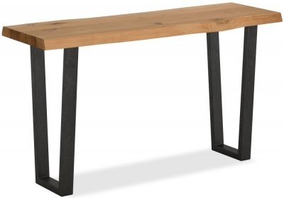 Corndell Oak Mill Waxed Oak Console Table